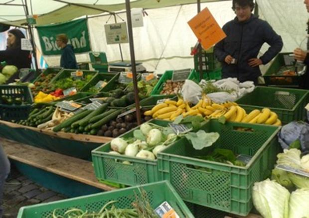 Mercados de abastos / Mercados locales. En Alemania.