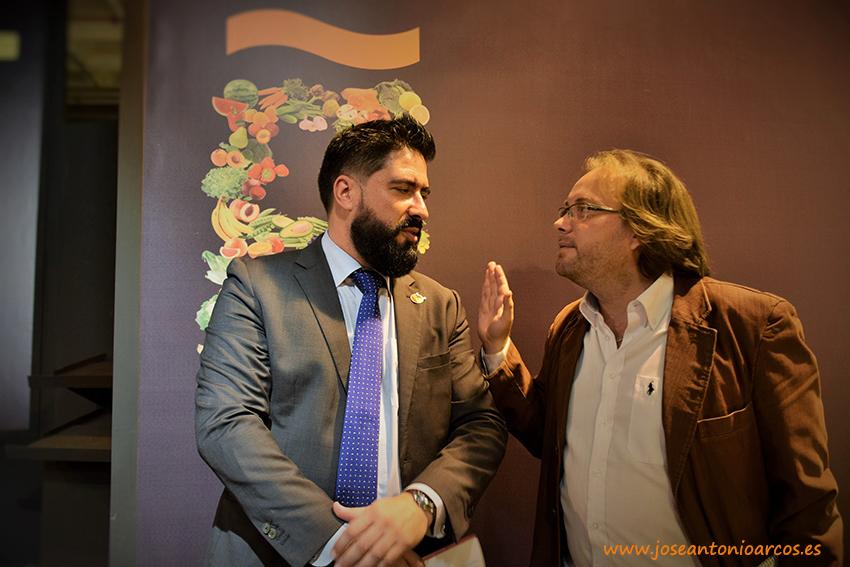 Entre Raúl Calleja y yo. La agricultura se hace grande en el IFEMA