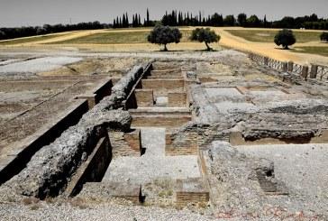 Las termas romanas de Itálica