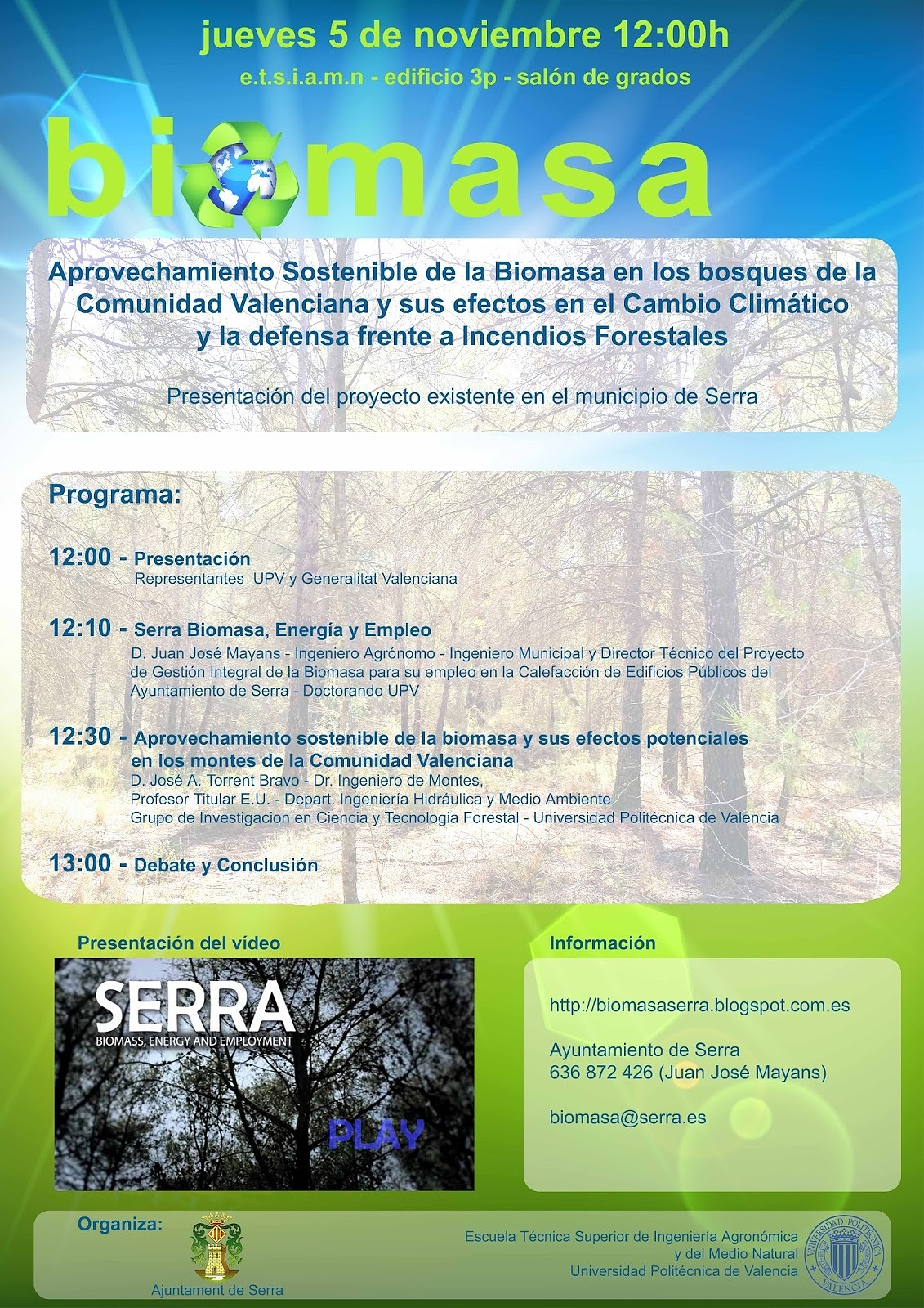 Biomasa en los bosques