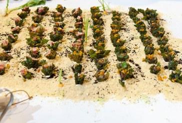 Show-cooking con la verdura de moda: Flower Sprout