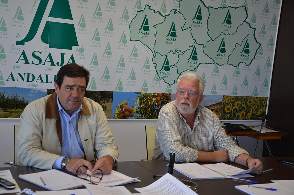 Asaja se sorprende del desaire del Parlamento andaluz