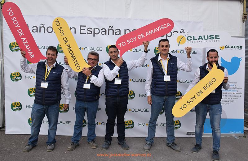Equipo comercial de HM-Clause Ibérica