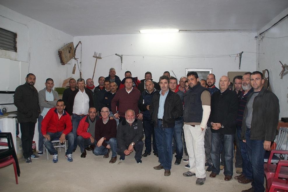 Asaja, Coag y Upa con la asociación almeriense Aguas Solidarias