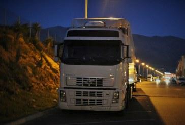 Sanciones a vehículos de transporte por carretera