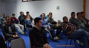 Alumnos de Campomar en las charlas de empleo