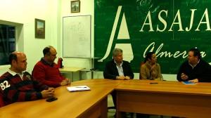 Ciudadanos se reúne con Asaja-Almería