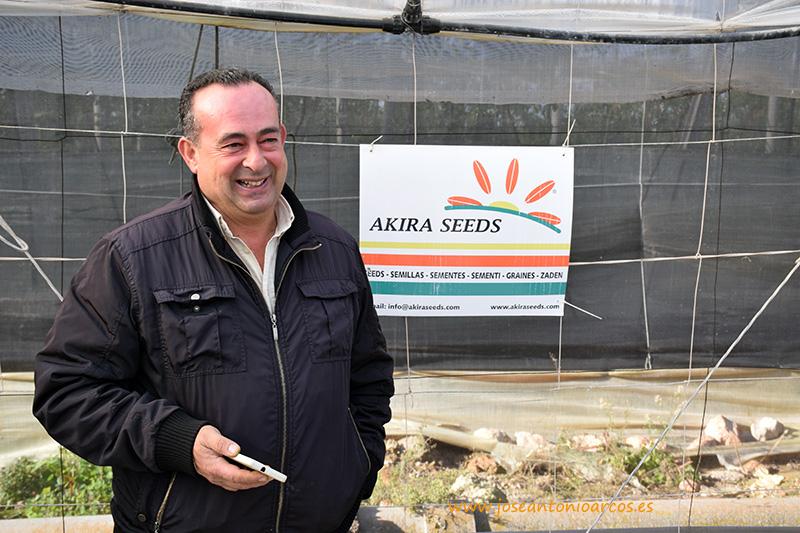 Isidro López Fernández, comercial de Akira Seeds
