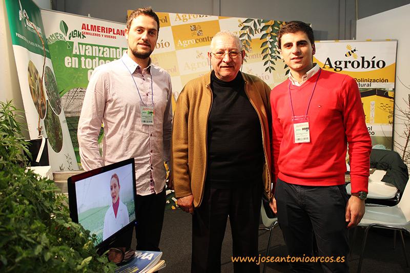 Con Almeriplant, Agrobío y Wise en la feria agrícola extremeña de Don Benito