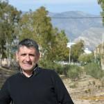José Carlos Garín, productor de tomate en Teruel, de visita en Almería