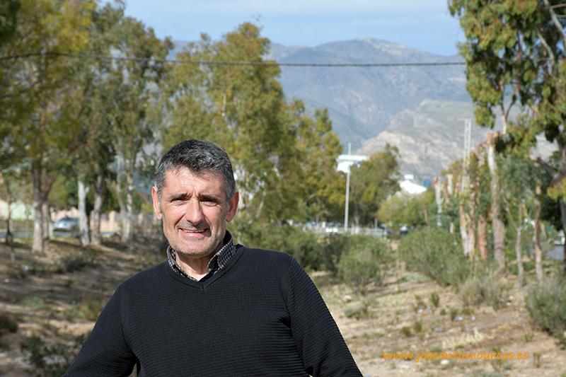 José Carlos Garín, productor de tomate de Teruel de visita en El Ejido (Almería)