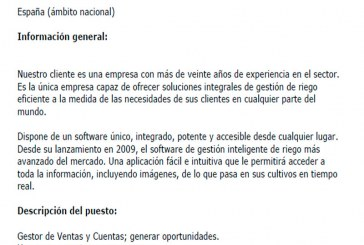 Empresa internacional busca ACCOUNT MANAGER