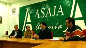 Reunión para analizar los problemas del agro en Asaja-Almería