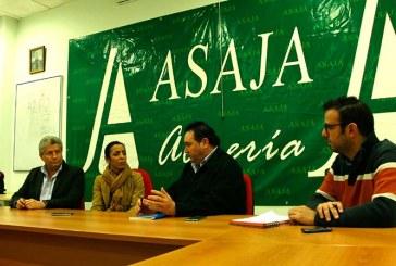 Ciudadanos se reúne con Asaja Almería para abordar los problemas del campo