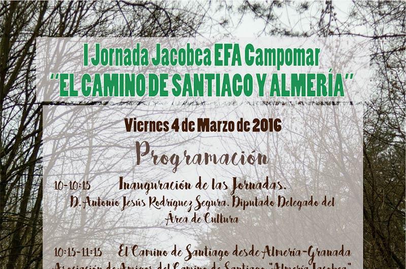 Día 4 de marzo. Jornada sobre el Camino de Santiago y Almería