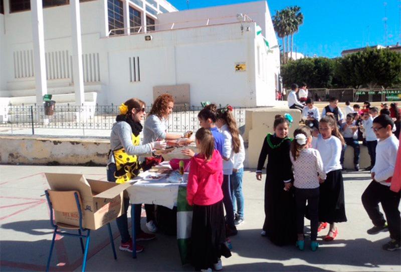 Desayuno saludable en el colegio Colonia de Araceli