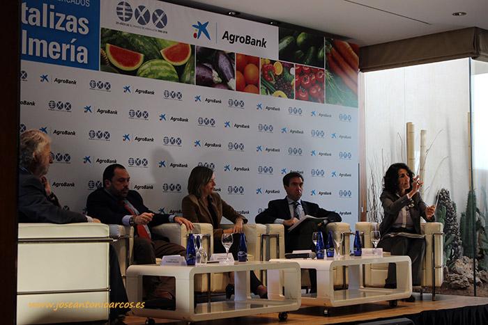Rafael Porras, Rafael Peral, Vanessa Bernad, José Antonio Aliaga y Mercedes Brey