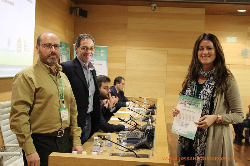 Investigadores premiados en el II Simposio Nacional de Ingeniería Hortícola