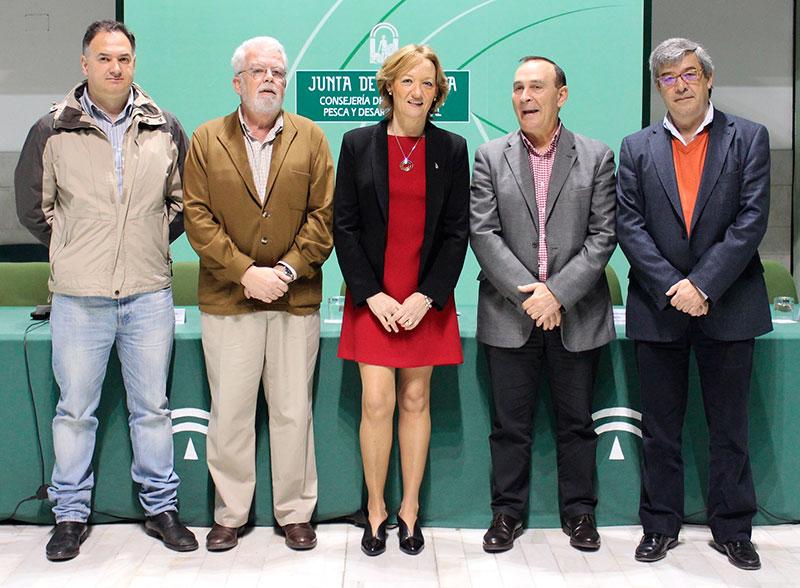 Mesa de interlocución agraria de Andalucía: Upa, Asaja, Consejería de Agricultura, Coag y Cooperativas Agroalimentarias