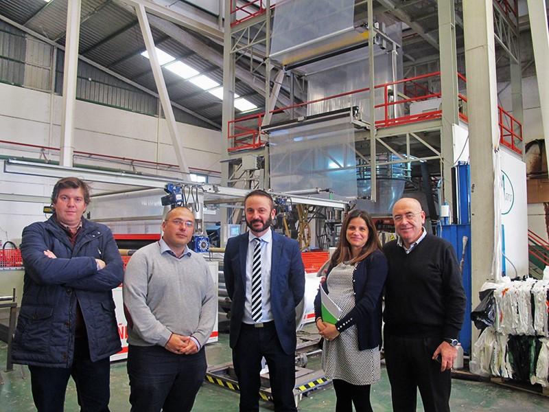Una fábrica de plasticultura nacida de un CADE: Plásticos Maro