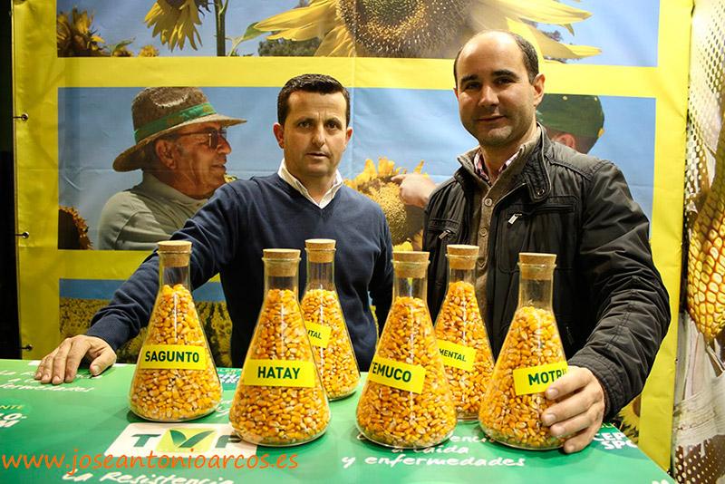 Representantes de Fitó en Extremadura con las novedades Temuco y Hatay