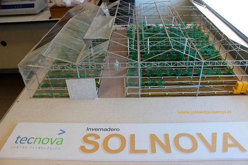 Solnova, invernadero de Tecnova en Almería