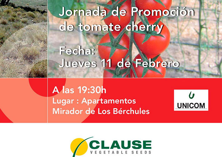 Día 11 de febrero. Jornada de promoción de tomate cherry de HM Clause