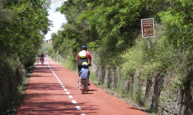 España contará a final de 2016 con cerca de 2.500 km de Vías Verdes. Foto: EFE ARCHIVO