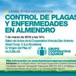 Día 1 de marzo. Jornada control de plagas y enfermedades en almendro en Valencia