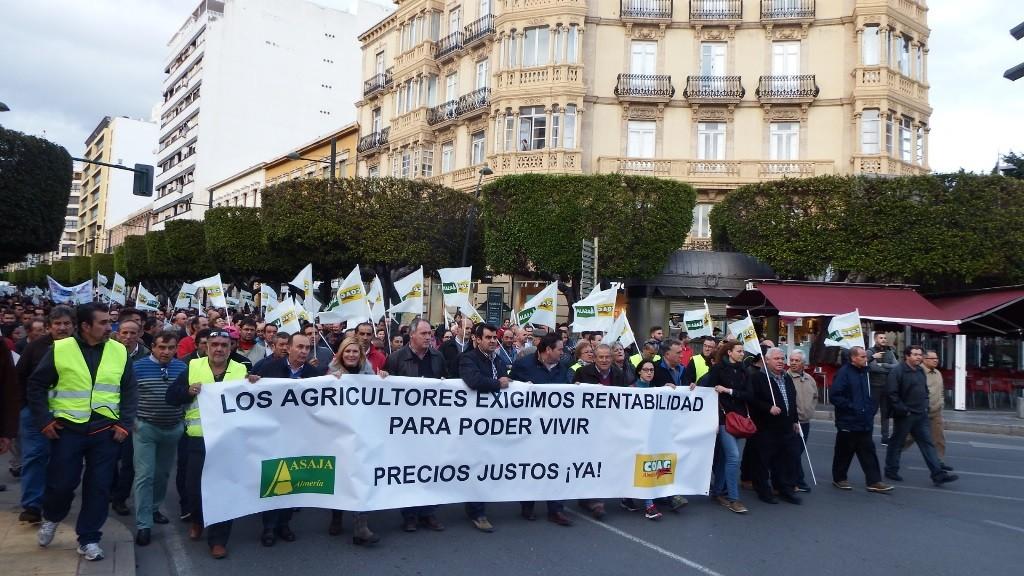 cabecera de la manifestación