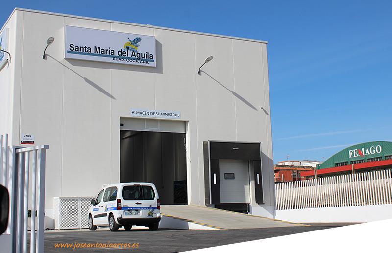 La cooperativa Santa Mª del Águila abre un nuevo almacén en Ejido Oeste