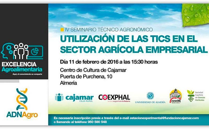 Día 11 de Febrero. Seminario de las TICS en el agro