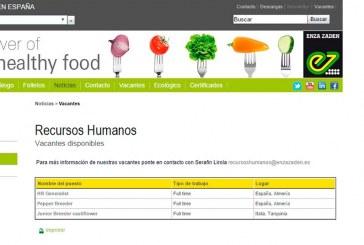 Human Resources Generalist. Enza Zaden, Almería