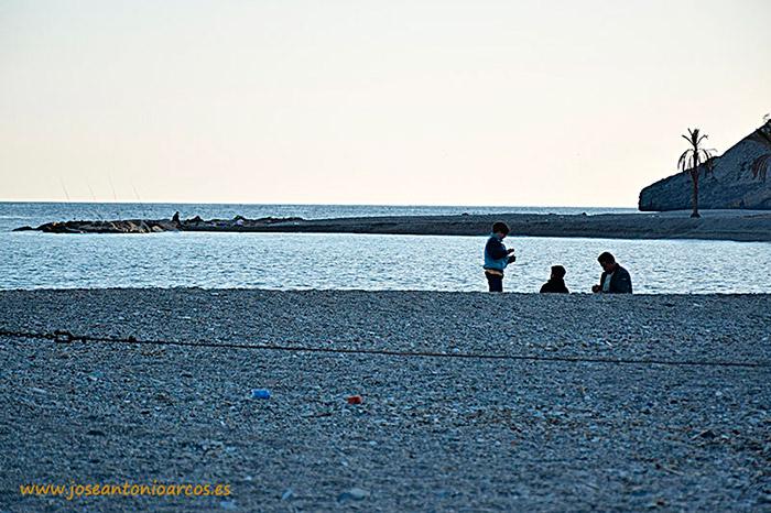 playa de Castell de Ferro costa de Granada Andalucía