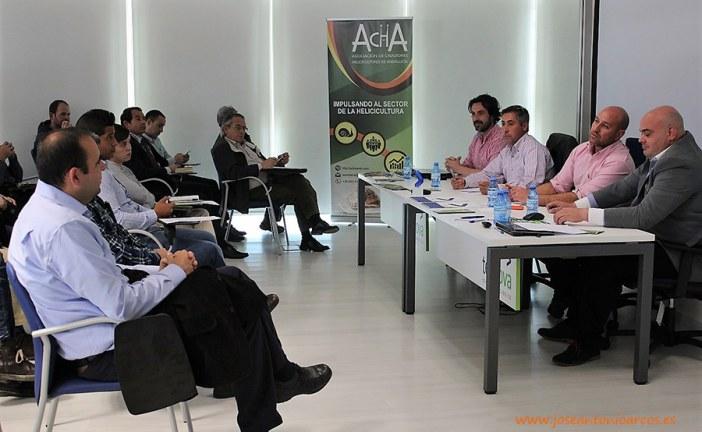 Productores de caracoles de El Ejido, Carchuna y Albondón