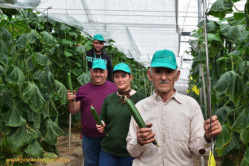 Familia de agricultores de Roquetas de Mar, Almería