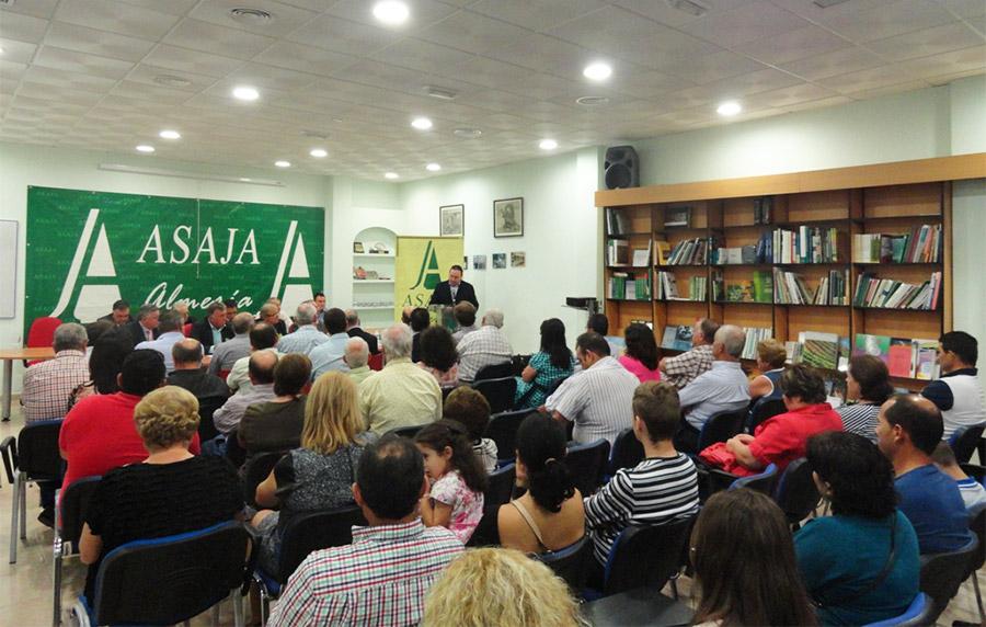 Asaja-Almería cumple un cuarto de siglo