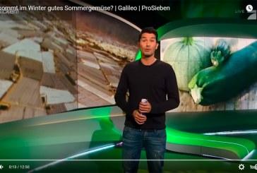 El canal alemán PROSIEBEN se mete en los invernaderos de Almería