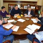 Coexphal, Asaja, Coag y Upa urgen al Subdelegado para mediar con Agroseguro