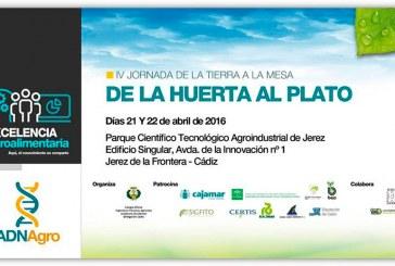 Días 21 y 22 de abril. Jornadas 'De la huerta al plato'. Cádiz