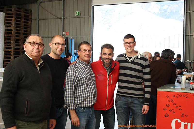 Emilio-Ruiz,-Miguel-Ángel-Fernández,-Gabriel-Herrada,-Santiago-Alonso-y-Rubén-Soler