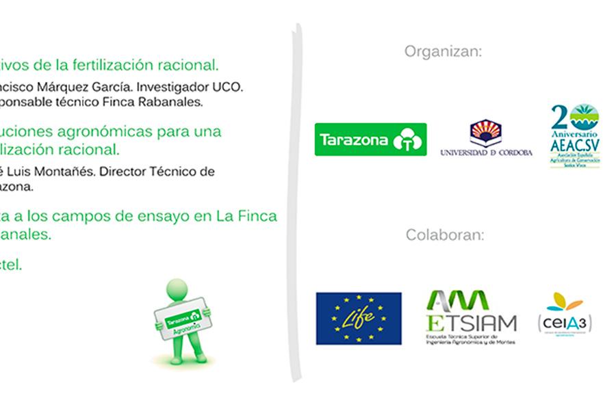 Día 21 de abril. Jornada 'Fertilización Racional'. Córdoba