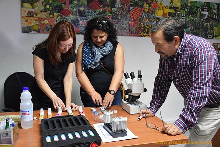 Equipo técnico de SAMA: Felicia Salazar, Juan Francisco Lebrusán y Trinidad Díaz