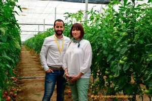 Manuel Ruiz Ayala y Véronique Lafanechère, marketing y comunicación HM Clause