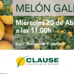 Día 20 de abril. Jornada melón Galia de HM Clause
