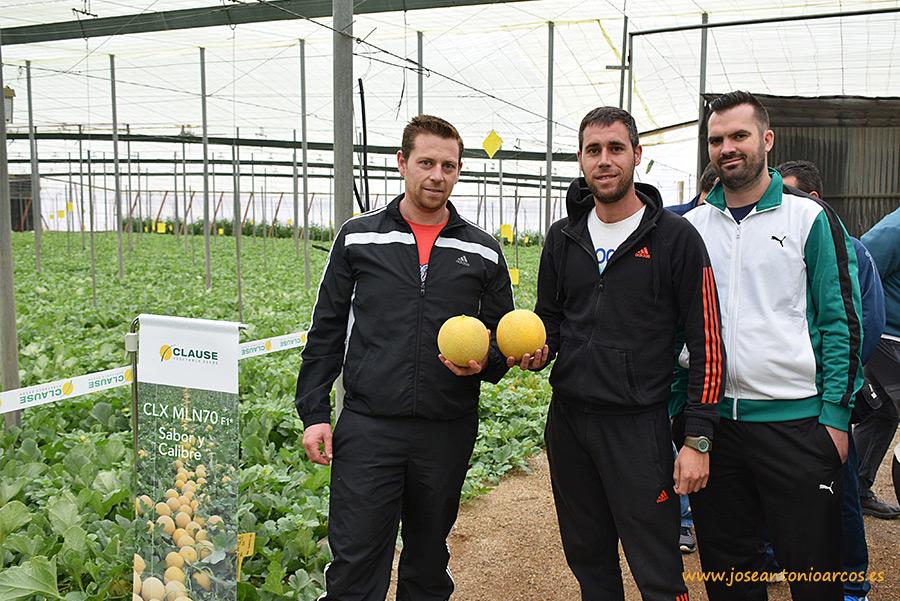 Agricultores jóvenes de Almería