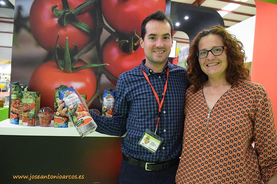 Biosabor lleva su línea de gazpachos a Expolevante 2016
