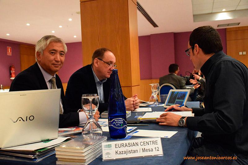 Kazajistán, industria auxiliar de la agricultura, Almería, Extenda