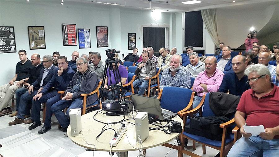 Jornada en la sede de Agricultura Viva en Acción con ponencias de Ciudadanos