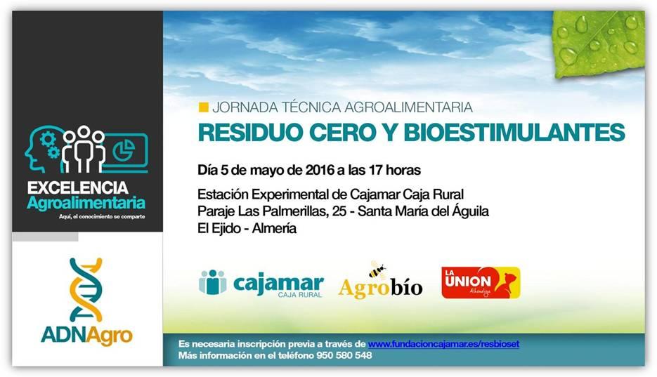 Día 5 de mayo. Residuo cero y bioestimulantes. Las Palmerillas